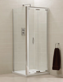 April Identiti2 Bifold Shower Door 760 x 800mm