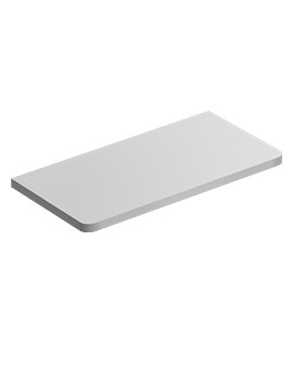 Ideal Standard Softmood Gloss White 650mm Worktop