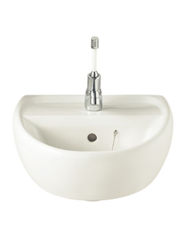 Twyford Sola 400mm 1 Tap Hole Washbasin