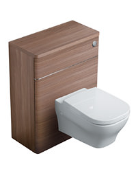 Ideal Standard Softmood Walnut 65cm WC Unit With Cistern