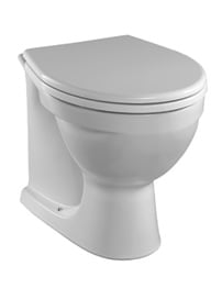 Twyford Alcona Back-To-Wall WC Pan 520mm