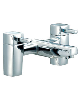 Mayfair QL Deck Mounted Bath Filler Tap Chrome
