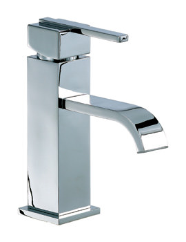 Mayfair Ice Fall Lever Mono Basin Mixer Tap With Pop Up Waste
