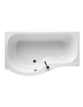 Ideal Standard Space Left Handed 170cm x 70cm Idealform Shower Bath