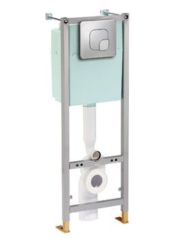 Twyford Fastfix Frame Unit For Wall Hung WC