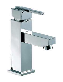 Mayfair Ice Quad Lever Mono Basin Mixer Tap With Pop Up Waste