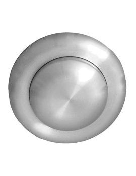 Twyford Steel Small Air Button Extended For Single Flush Cistern
