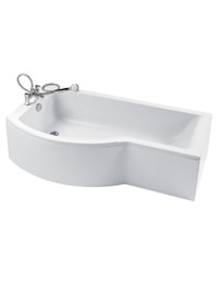 Ideal Standard Concept Idealform Shower Bath 1700 x 700mm Left Hand