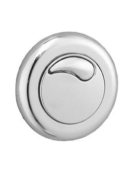 Twyford Chrome Small Air Push Button For Dual Flush Cistern