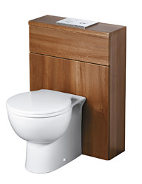 Ideal Standard Space 600mm Walnut WC Unit Including Cistern
