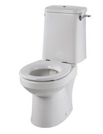 Twyford Sola Rimless Close Coupled WC Pan 495mm