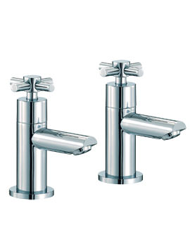 Mayfair Series C Bath Pair Of Chrome Tap