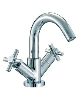Mayfair Series C Mono Basin Mixer Tap With Pop Up Waste Chrome