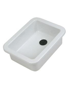 Twyford Laboratory 420 x 315 x 160mm Sink With Flanged Rim