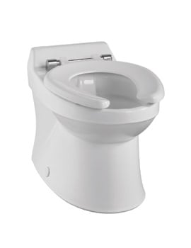Twyford Sola School Rimless Back-To-Wall 300mm Wide WC Pan