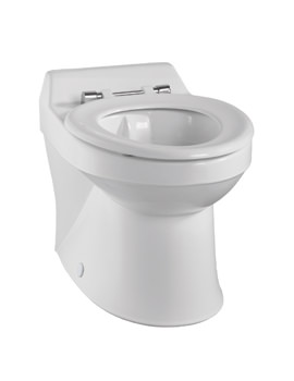 Twyford Sola School Rimless Back-To-Wall 350mm Wide WC Pan