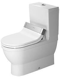 Duravit Starck 3 705mm Close Coupled Toilet And Cistern With SensoWash Seat