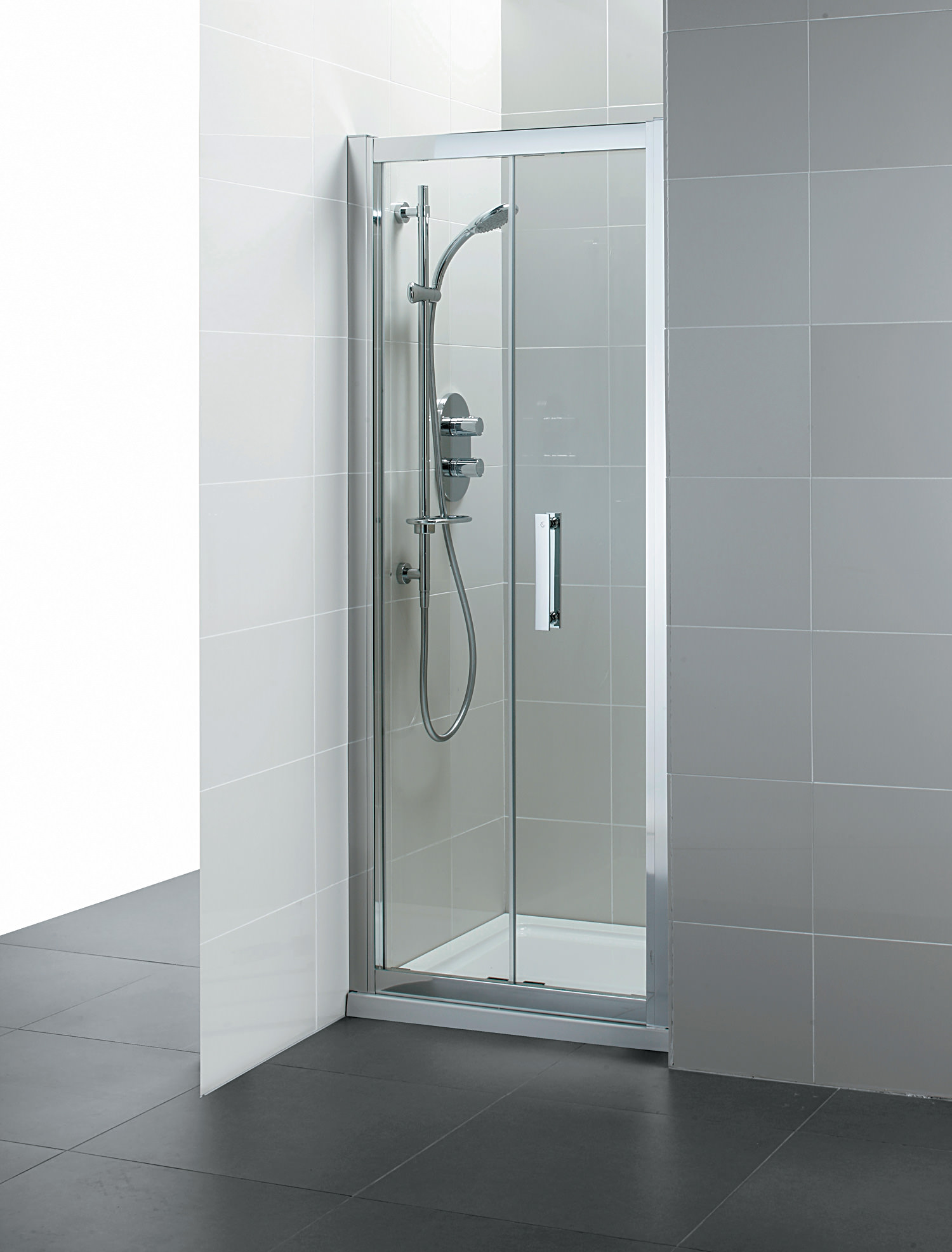 Ideal standard synergy 1000mm infold shower door for 1000mm shower door