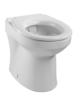 Twyford Sola Rimless Back-To-Wall WC Pan 508mm
