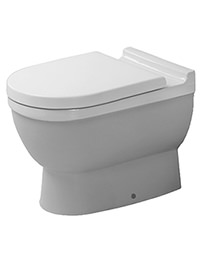 Duravit Starck 3 560mm Floor Standing Toilet With Seat And Cover