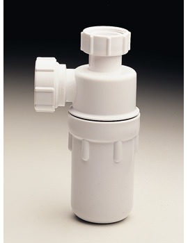 Twyford P Outlet Plastic Bottle Trap - One And Half Inch Fitting