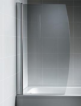 Ideal Standard Synergy 895 x 1500mm Bow Bath Screen