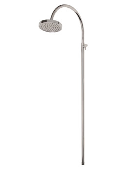 Mayfair Contemporary Crosshead Adjustable Fixed Riser And Shower Head