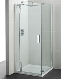 Ideal Standard Tonic Flat Top 800mm Corner Left Hand Hinged Pivot Door
