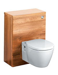 Ideal Standard Concept 50cm WC Unit With Cistern - American Oak
