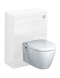 Ideal Standard Concept 50cm WC Unit With Cistern - White Gloss