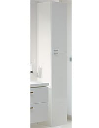 Ideal Standard Concept 30cm Wall Hung Tall Unit With Doors-White