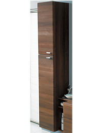 Ideal Standard Concept 30cm Wall Hung Tall Unit With Doors-Walnut