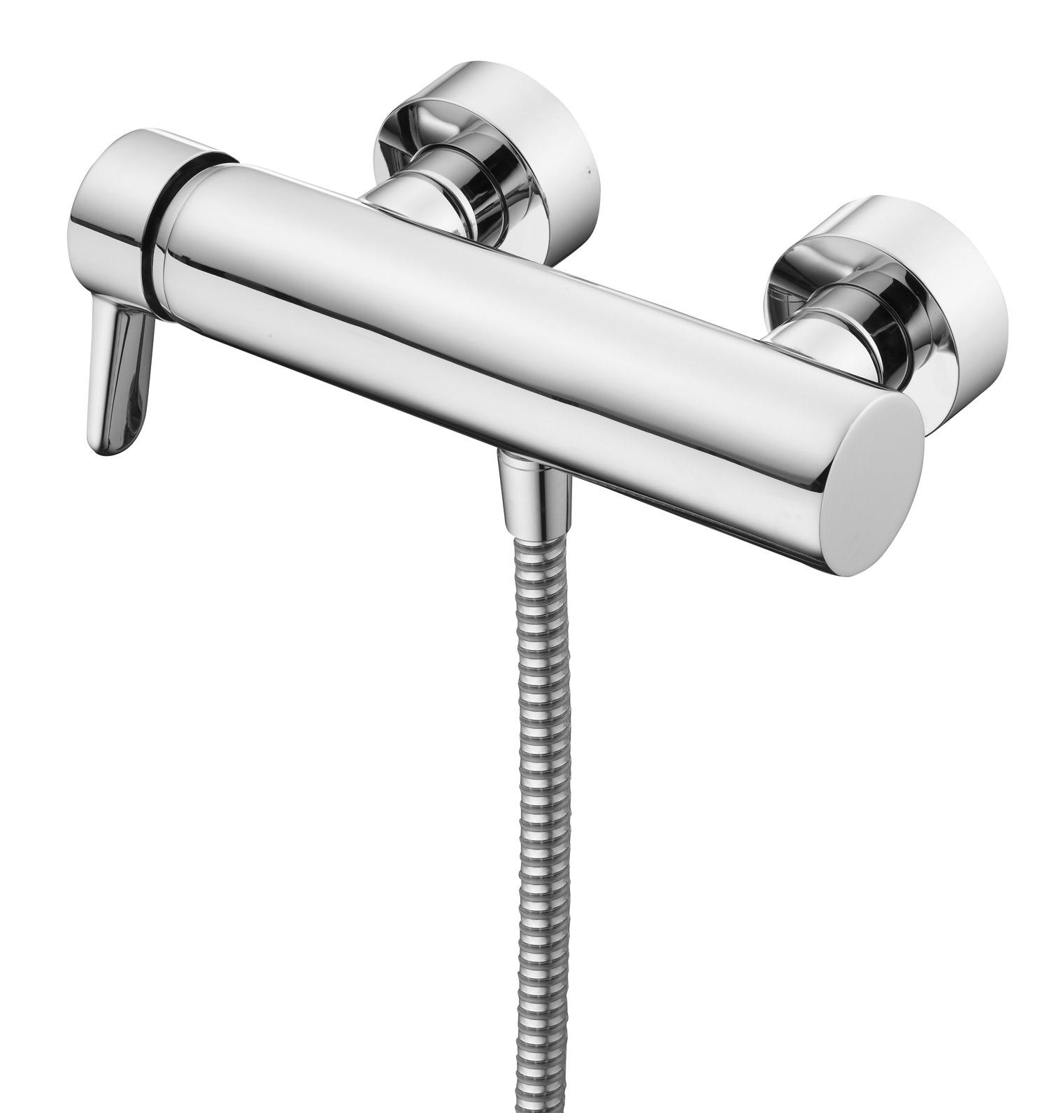 ideal standard concept blue single lever bath shower mixer. Black Bedroom Furniture Sets. Home Design Ideas