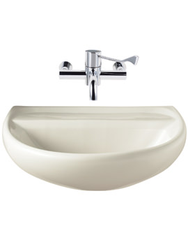 Twyford Sola Medical 600 x 460mm Washbasin
