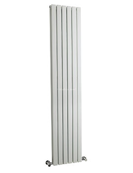 Hudson Reed Sloane 354x1800mm Double Panel Vertical Radiator - White