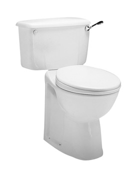 Twyford Avalon Close Coupled WC Pan With Horizontal Outlet 750mm