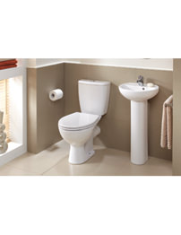 Twyford Alcona White Cloakroom Suite