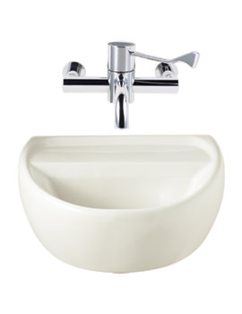 Twyford Sola Medical 400 x 345mm Washbasin