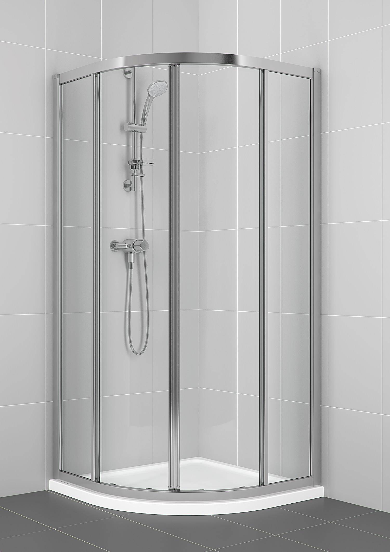 Ideal Standard New Connect 900mm Quadrant Shower Enclosure