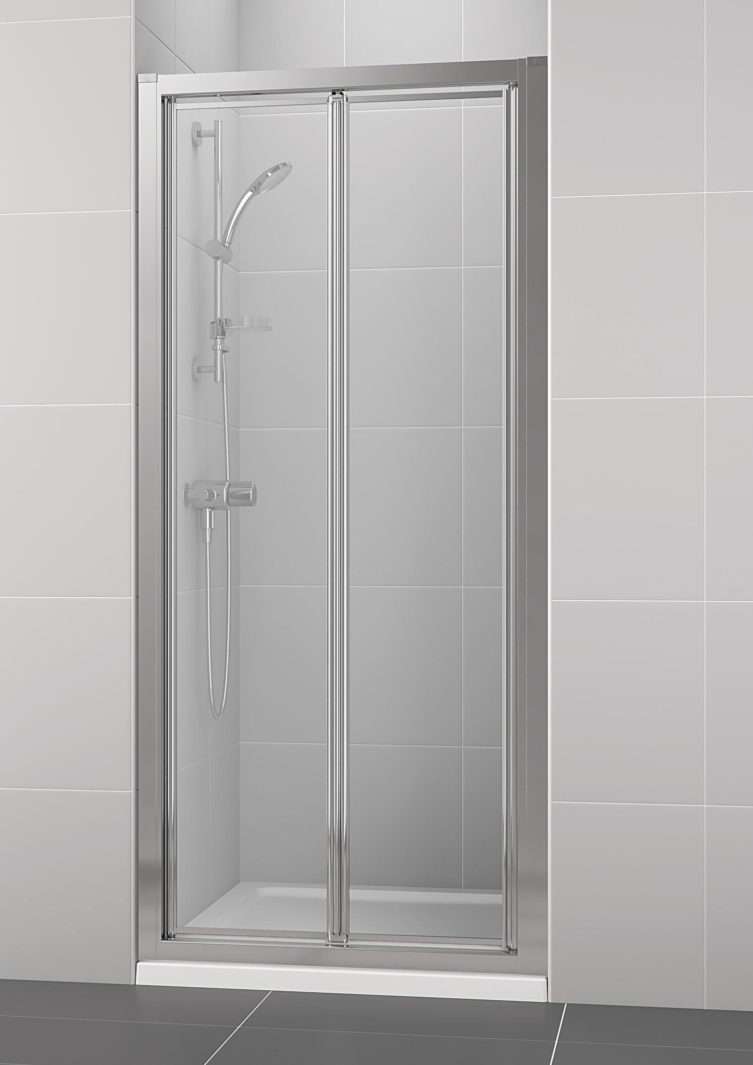 Bifold Bathroom Door: Ideal Standard New Connect 760mm Bifold Shower Door