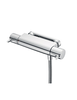 Ideal Standard Alto Ecotherm Exposed Shower Mixer Valve With Lever Handles