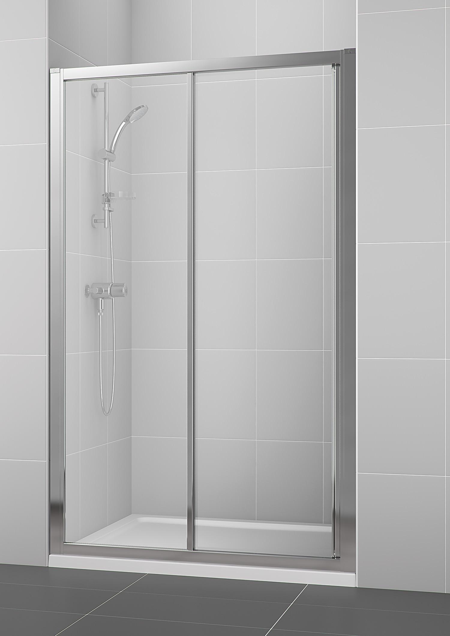 Ideal standard new connect 1200mm slider shower door for 1200mm shower door
