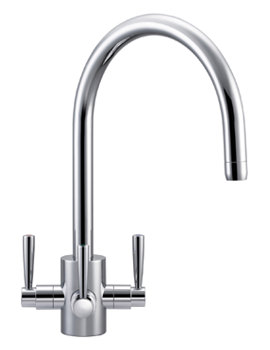 Franke FilterFlow Olympus Chrome Kitchen Sink Tap