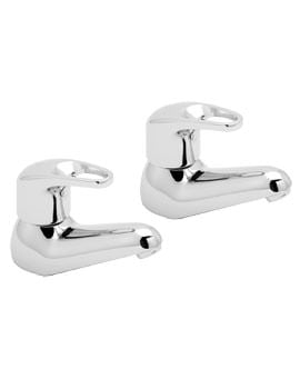 Deva Lace Pair Of Bath Tap Chrome