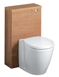 Ideal Standard Concept Slimline 50cm WC Unit - American Oak