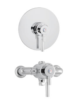 Deva Vision Concentric Thermostatic Shower Mixer Valve Only