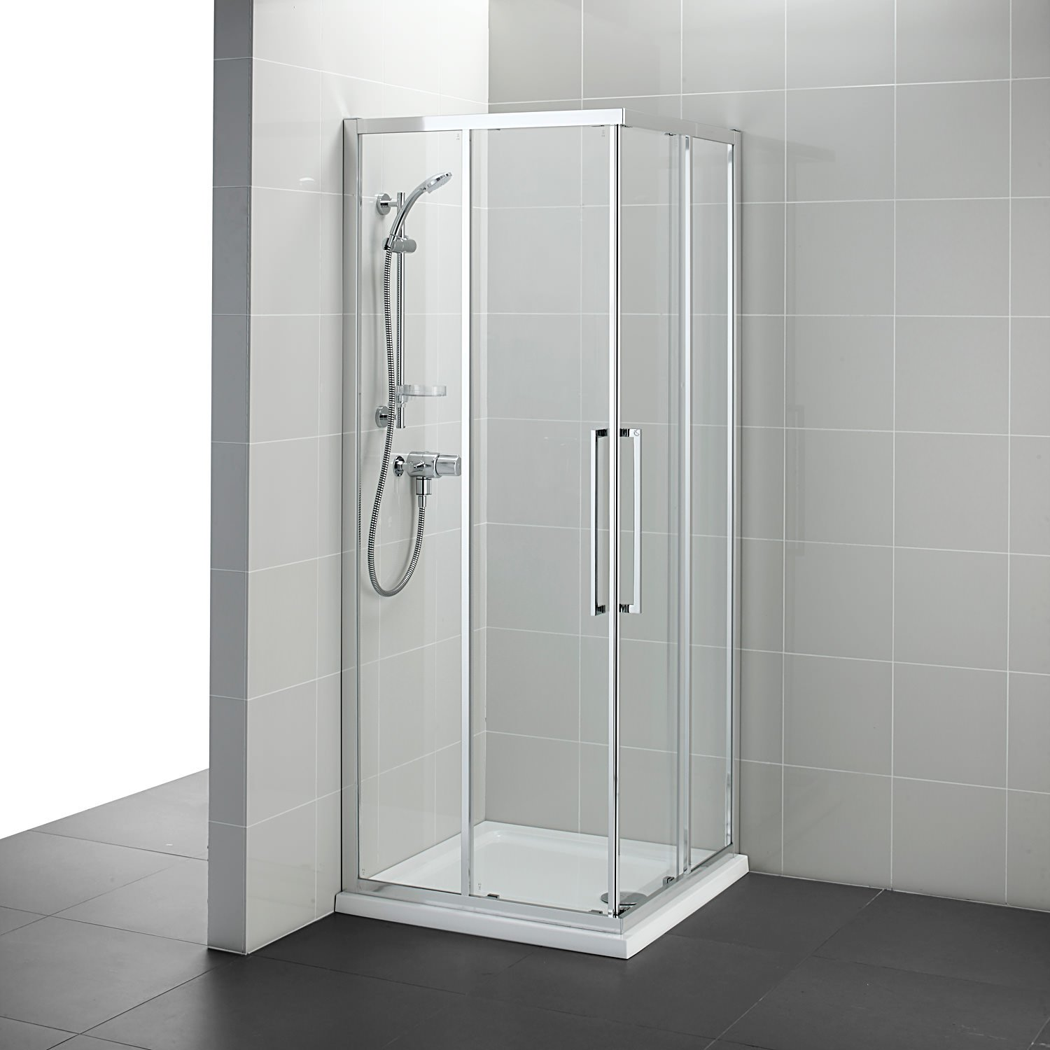 Ideal Standard Kubo 800 X 800mm Corner Entry Shower Enclosure