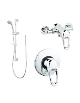 Deva Lace Manual Shower Valve With Single Mode Shower Kit