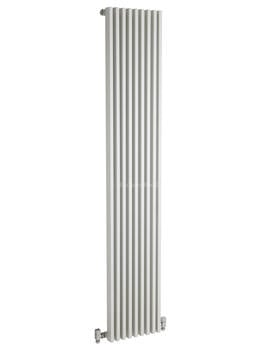 Hudson Reed Parallel 342x1800mm Vertical Radiator - White