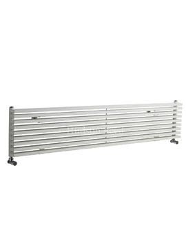 Hudson Reed Parallel 1800x342mm Horizontal Radiator - White